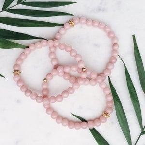 Image of Blush Pink Bracelet Trio