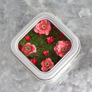 Image of Kitchen Flower Garden Fridge Magnet, Gift for the Gardener
