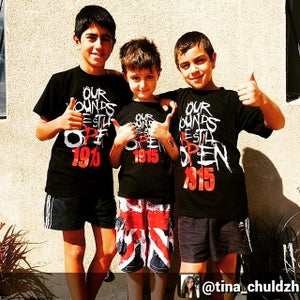 Image of Kids/Baby Open Wounds 1915 Tees