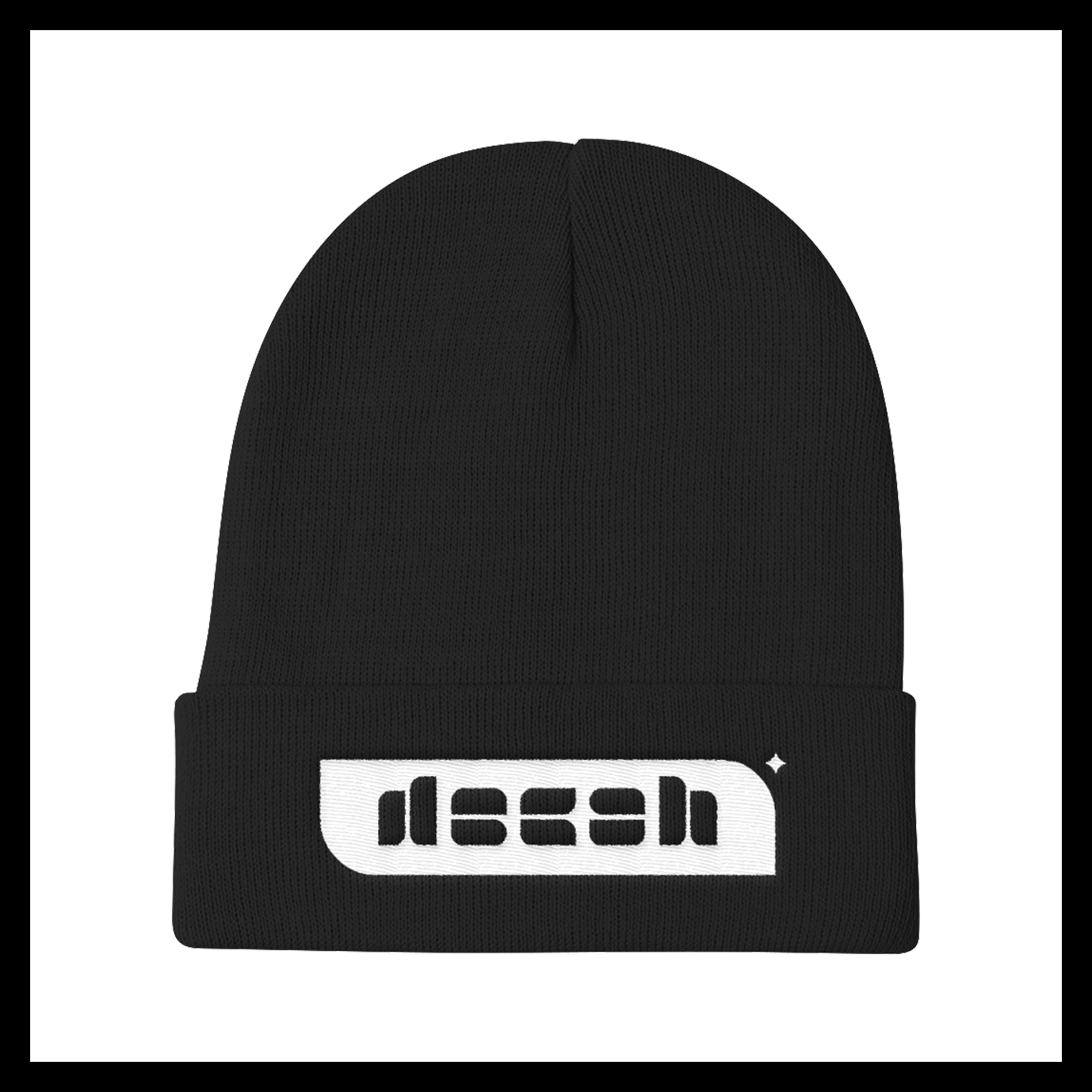 Image of decah Embroidered Beanie I