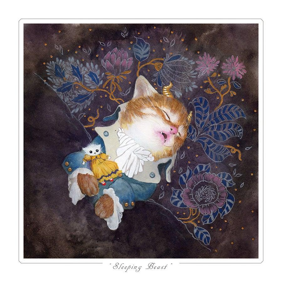 "Image of ""Sleeping Beast"" Limited Edition Print"