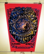 Image of The Police and Elvis Costello gigposter
