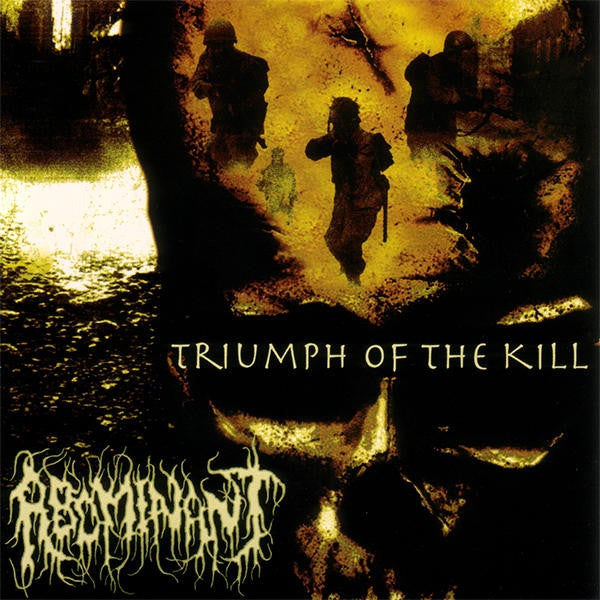 "Image of ABOMINANT "" Triumph of the Kill  "" CD"