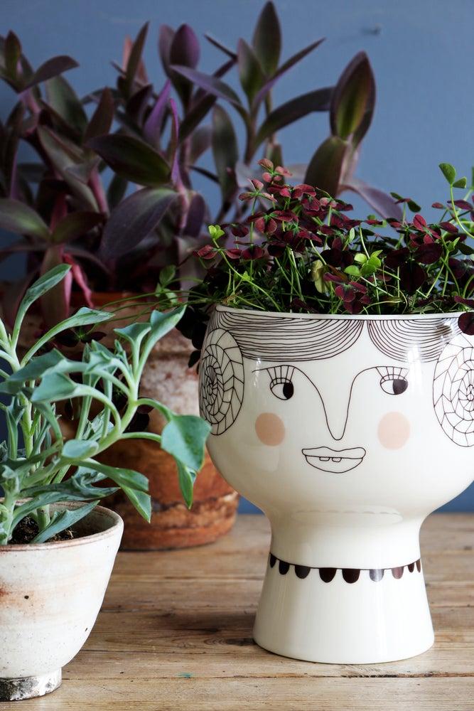 Image of Flower Me Happy Pot - Vera
