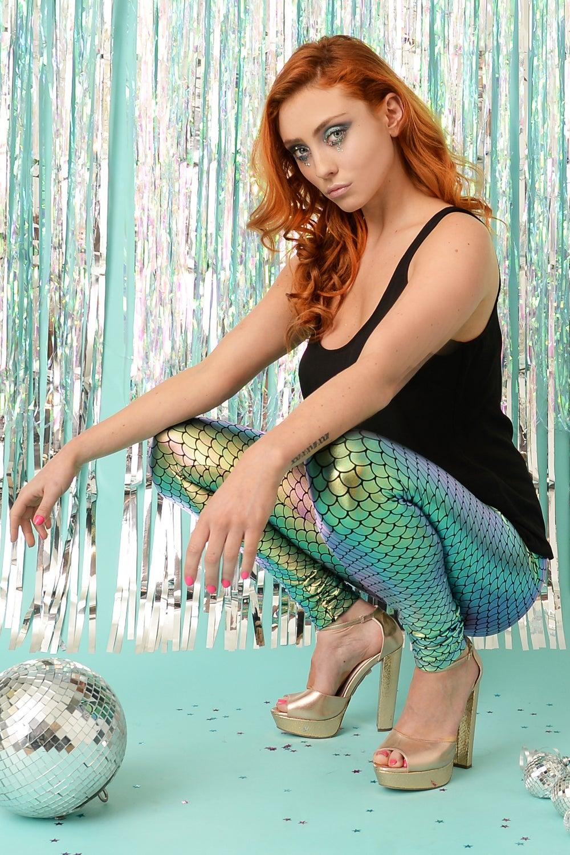 Image of Shimmer Mermaid Leggings