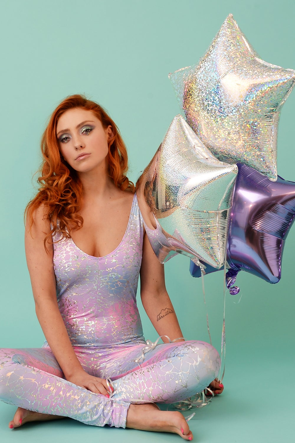 Image of Unicorn Mermaid Catsuit