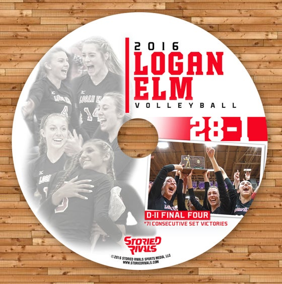 Image of Logan Elm Volleyball 2016// Historic Season (DVD)