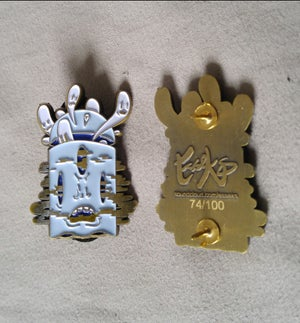 """Image of """"Ghost One"""" Pin"""