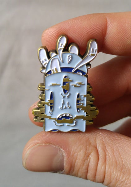 "Image of ""Ghost One"" Pin"