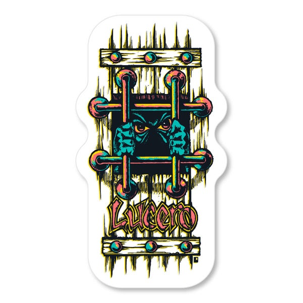 "Image of John Lucero ""OG Bars"" sticker large"