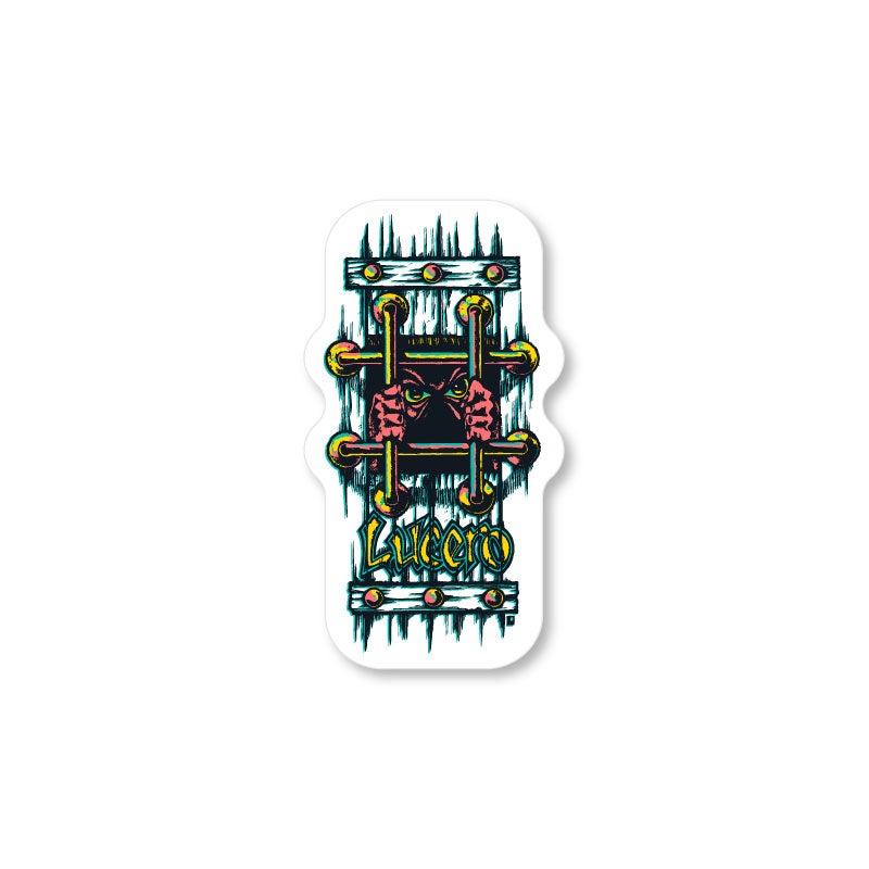 """Image of John Lucero """"OG Bars"""" sticker small"""