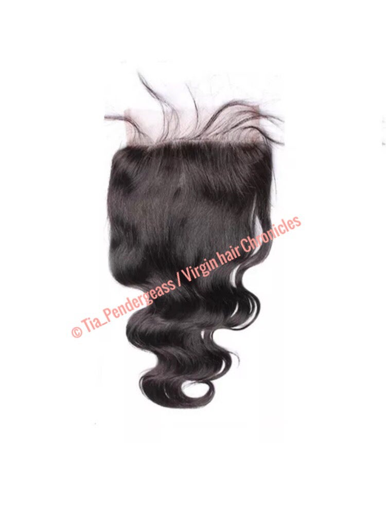 Image of New large 5x5 lace closure