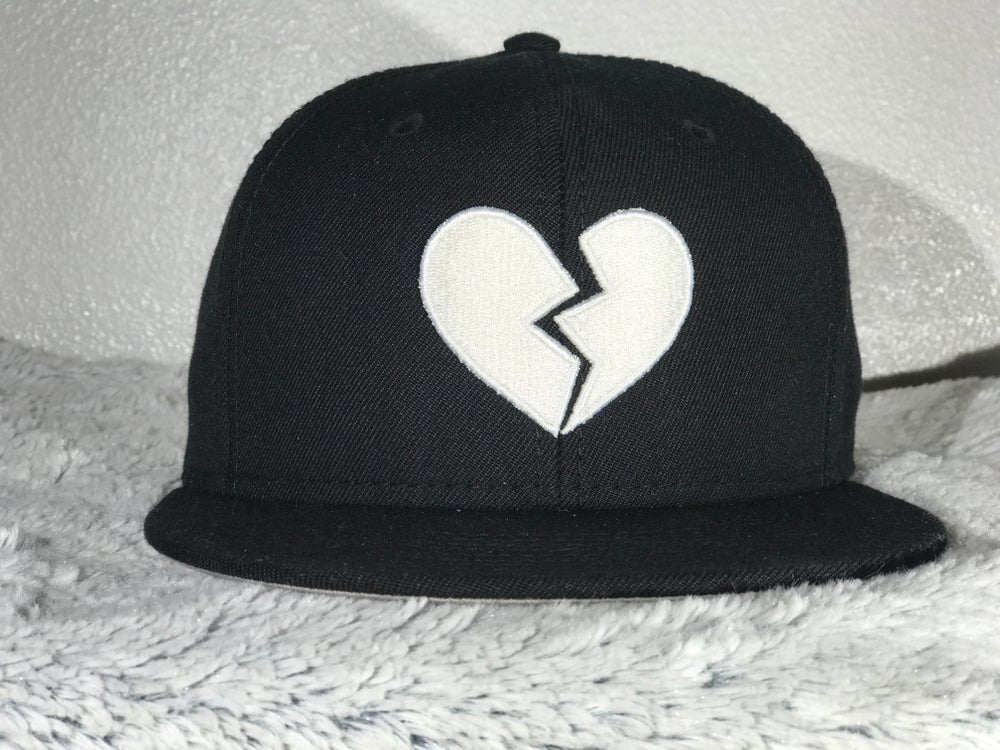 Image of HeartBreakers Black SnapBack