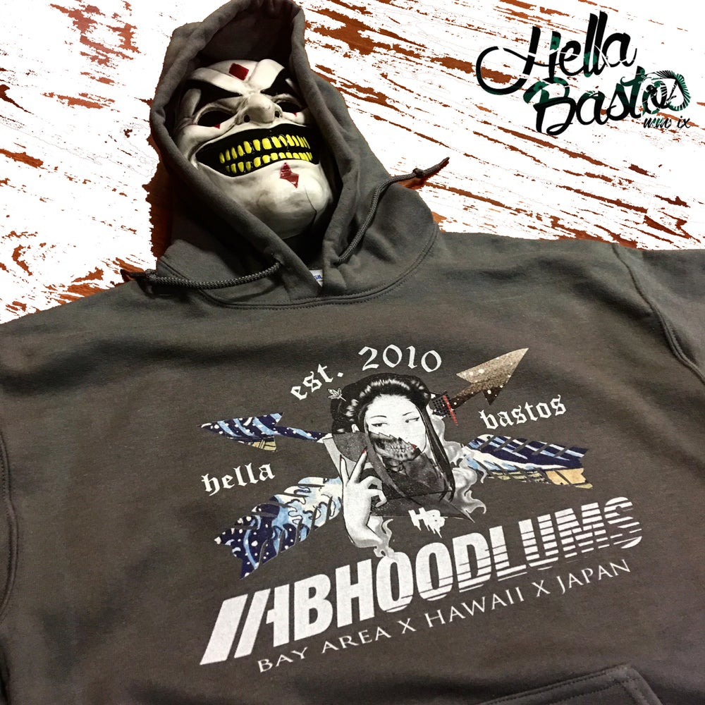 Image of HB Hoodlum S#iT  Geisha Hooded Sweater