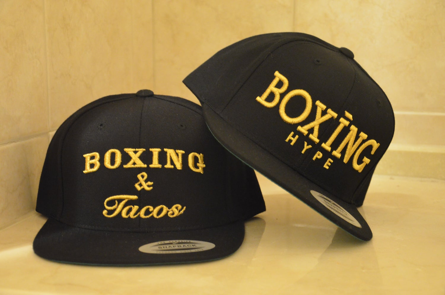 Image of Black Gold Boxing and Tacos Snapback