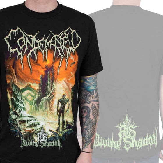 Image of Condemned His Divine Shadow album cover shirt!