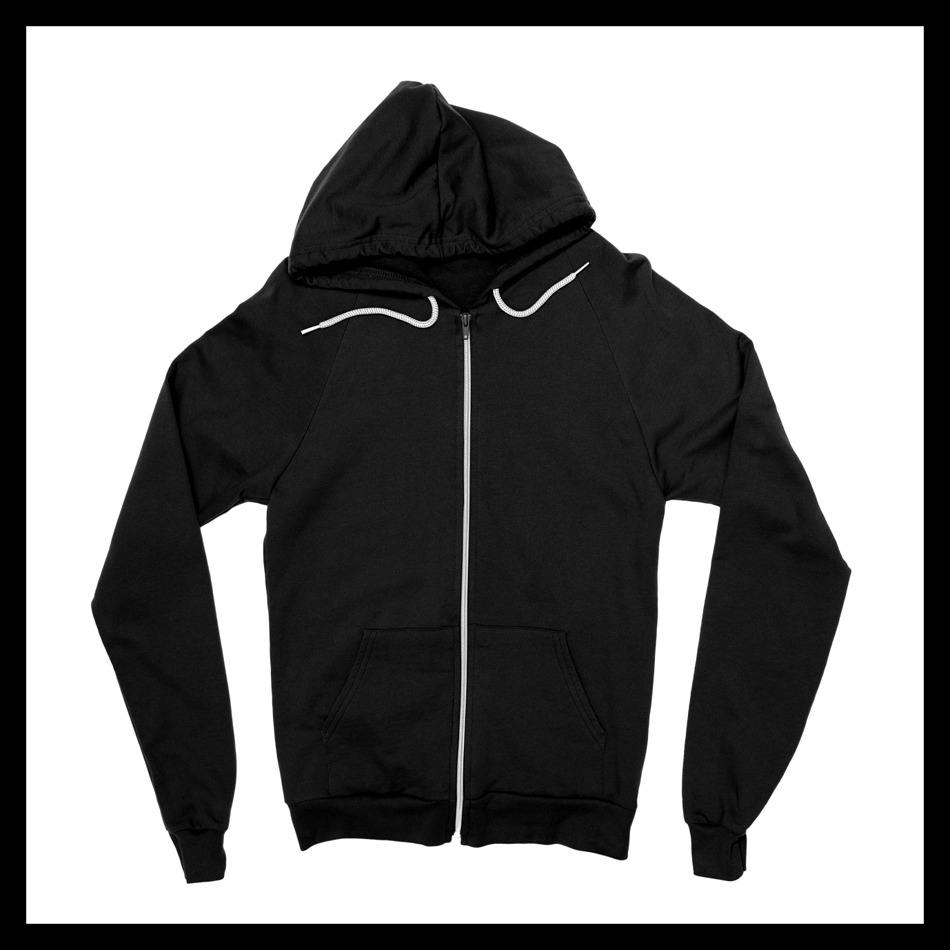 Image of Unisex Zip-Up Hoodie II