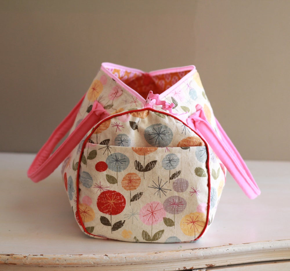 Image of Classic Bowling Bag PDF Sewing Pattern