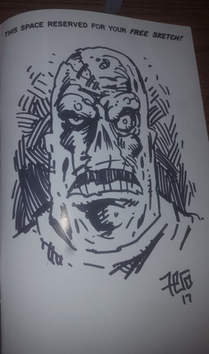 Image of Horror Monsters: The Art of Fero (with free sketch)