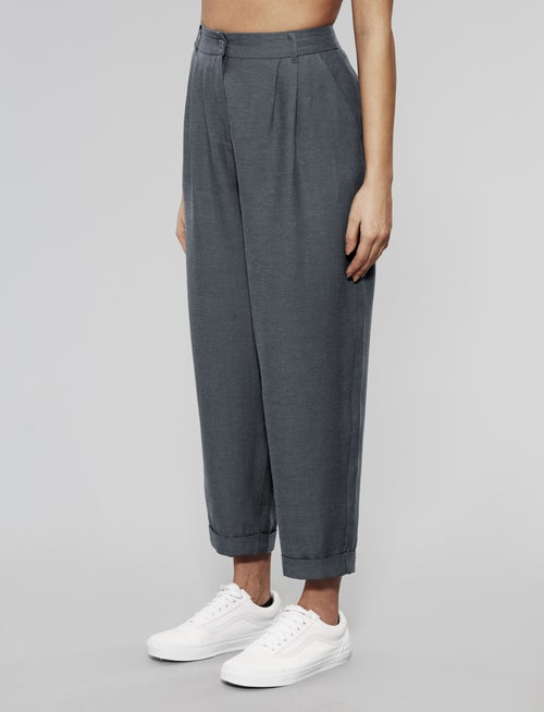 Image of Native Youth - Croppped Suit Pants