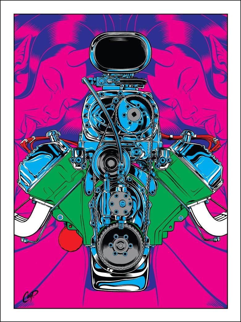 Image of GIMME HEMI (Lonestar Roundup 2017) Silkscreen Print
