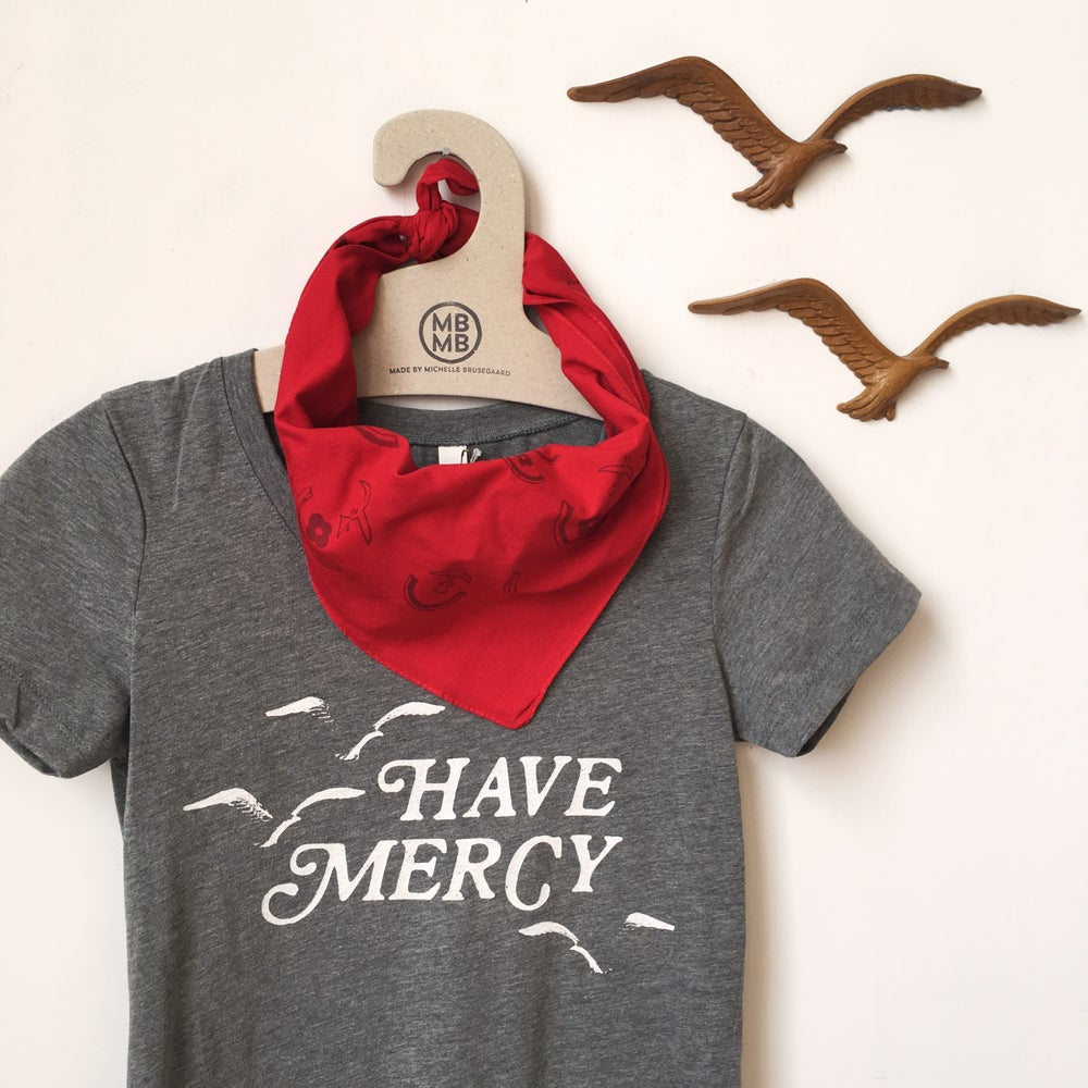 Image of Have Mercy Shirt-Gray Heather