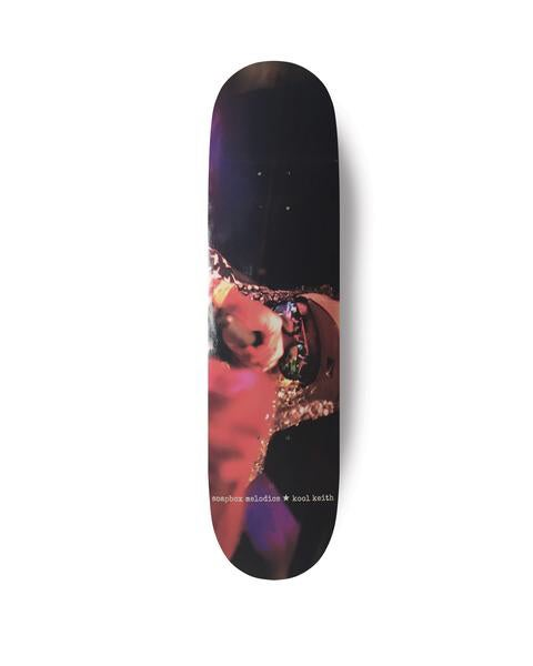 Image of Soapbox Melodics x Kool Keith Skateboard Deck