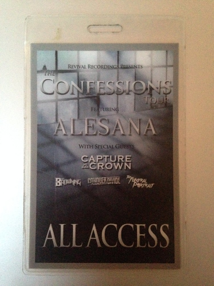 Image of All Access Tour Laminate from our first nationwide tour