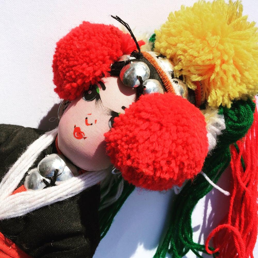 Image of Frida art Doll