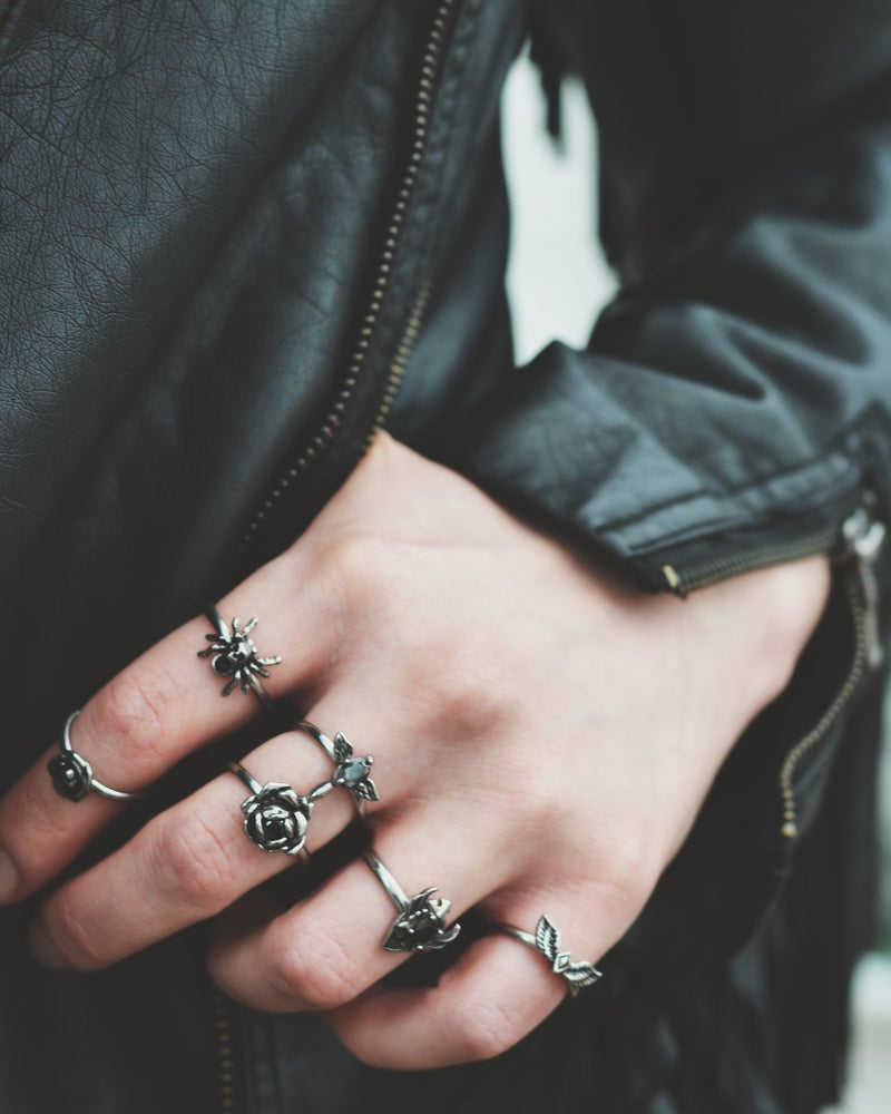 Image of Metal Betty - Jett Ring