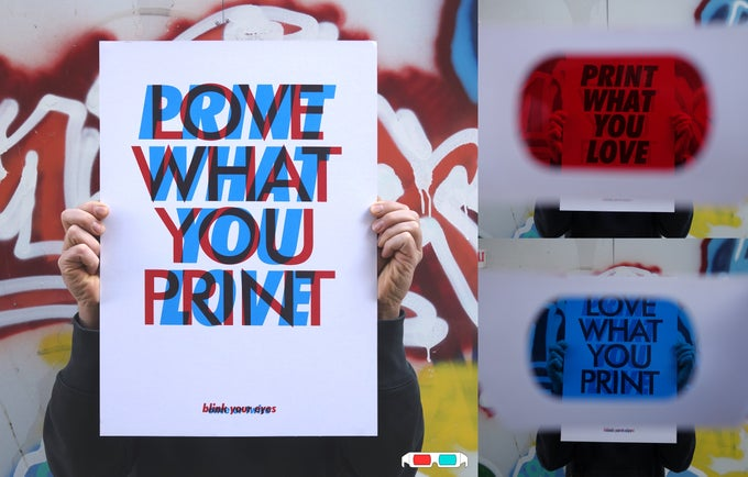 Image of Love what you Print / Print what you Love