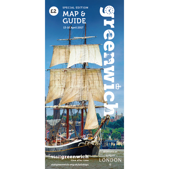 Image of Tall Ships Special Edition Map & Guide