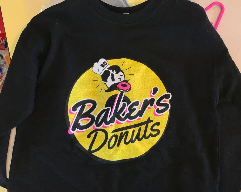 Image of Baker's Donuts Crewnecks