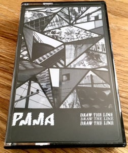 Image of PMMA - DRAW THE LINE CASSETTE EP (LTD 100)