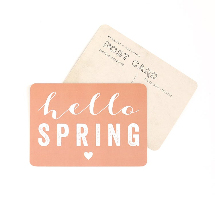 Image of Carte Postale HELLO SPRING