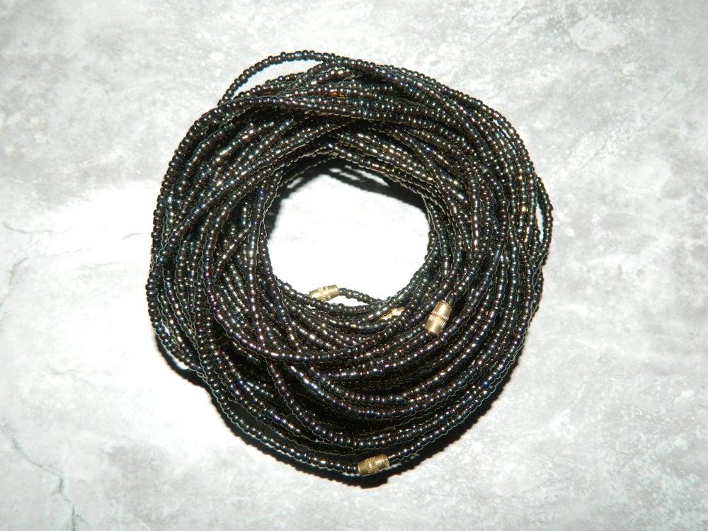 Image of Bronze metallic waist bead