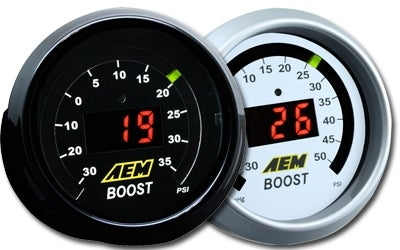 Image of AEM Electronics Digital Display Gauges