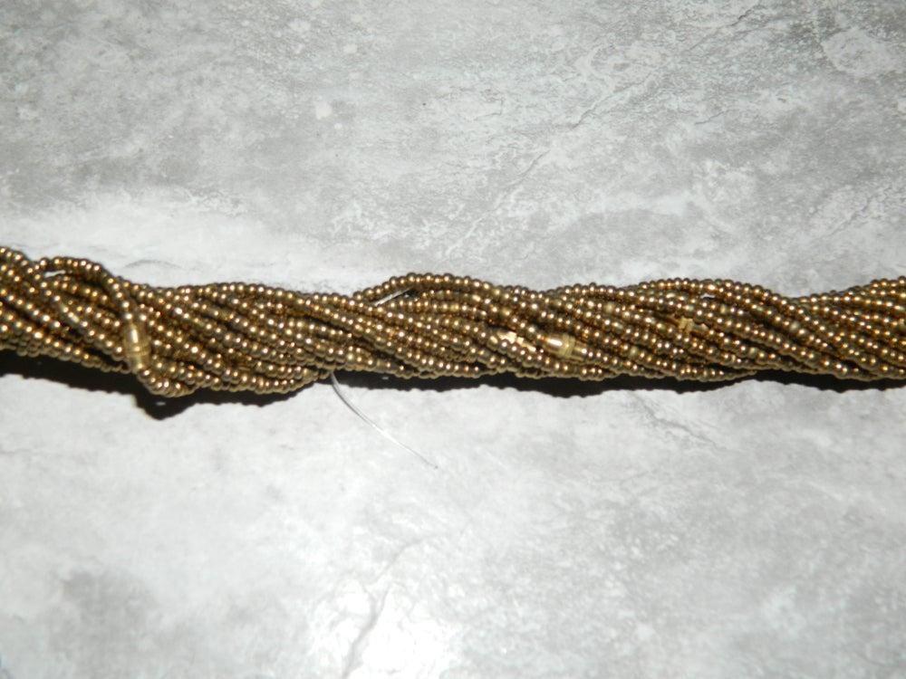 Image of Gold waist bead
