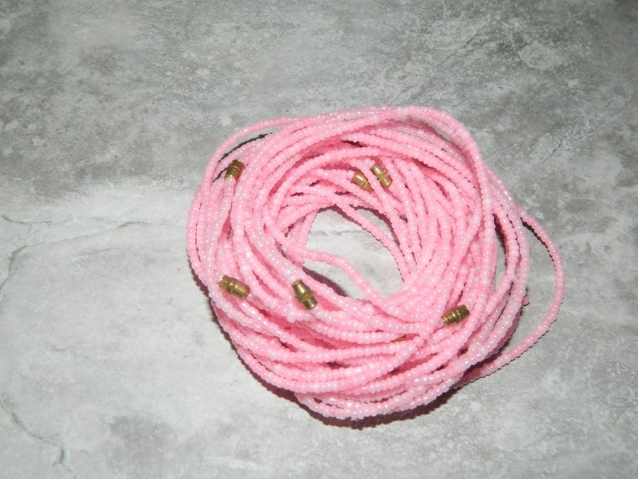 Image of Light pink waist bead