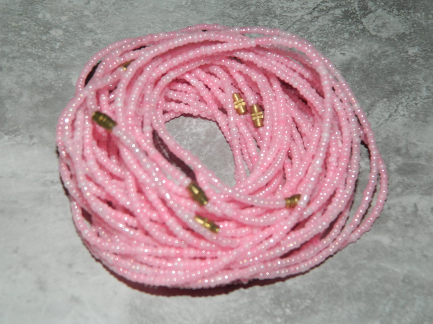 Image of Light pink waist bead