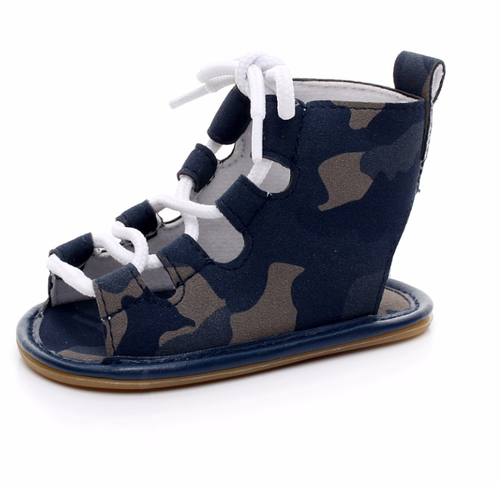 Image of Vegan Hard-Sole Gladiator Sandals