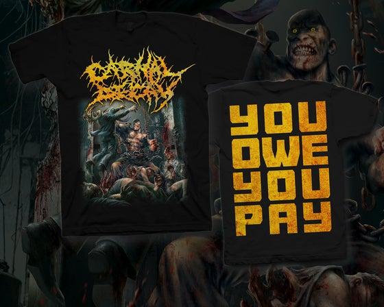 Image of Shirt - You Owe You Pay
