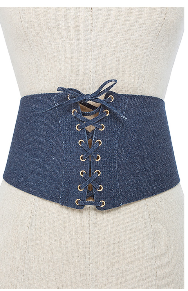 Image of Denim Corset