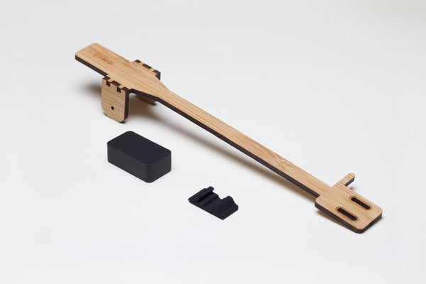 Image of Wooden - Bihari Tonearm for PT01 Scratch