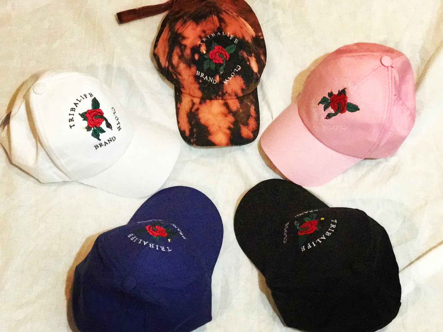 Image of The Rose Dad Hats
