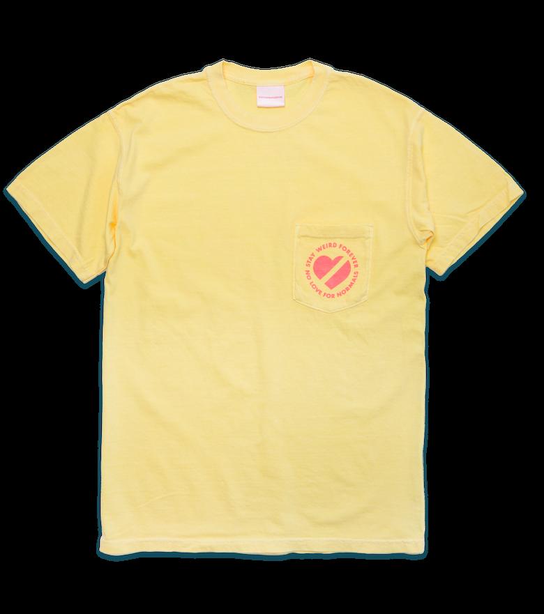 Image of Logo Pocket T, Banana