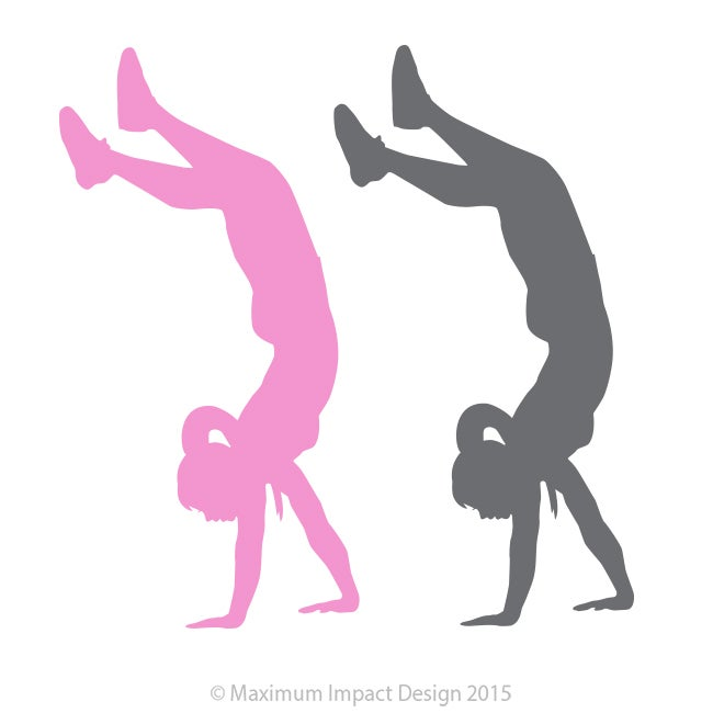 Image of Crossfit Inspired Strong Girl Sticker