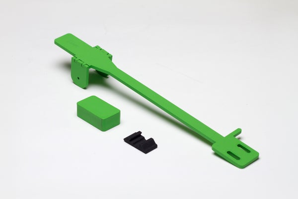 Image of Green - Bihari Tonearm for PT01 Scratch
