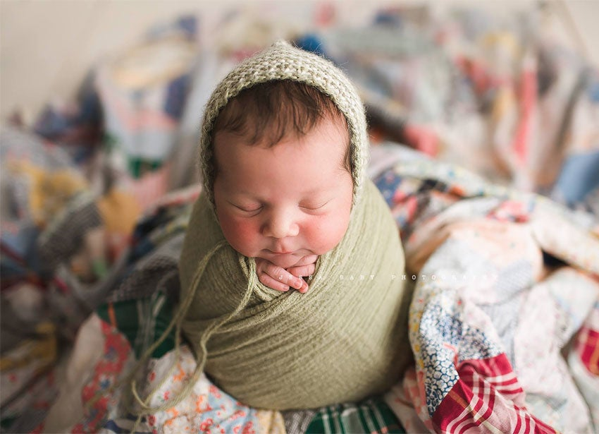 Image of Rustic Organic Cloths - CHOOSE 2 - Great For Newborn Wraps - Styling Cloths