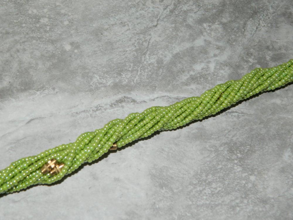 Image of Lime waist bead